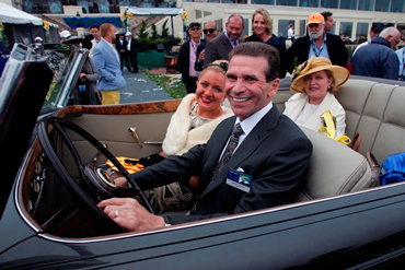 The Cassini Family in their 2013 Pebble Beach Concours Best of Show Packard