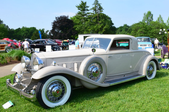 Ault Park Concours Best of Show packard