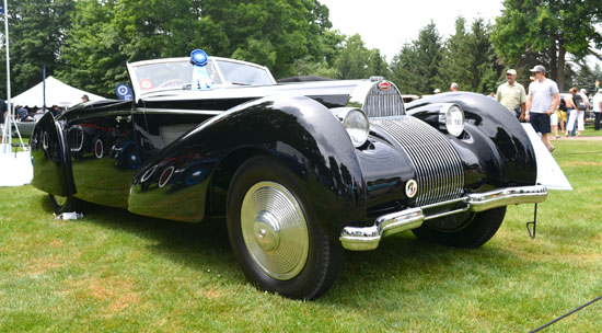 2014 Concours America St. Johns Best of Show Bugatti