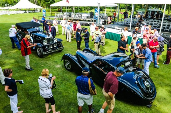 best of show winners at Concours of America Duesenberg Bugatti