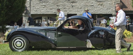 Bugatti Best of Show 2015 Keeneland Concours