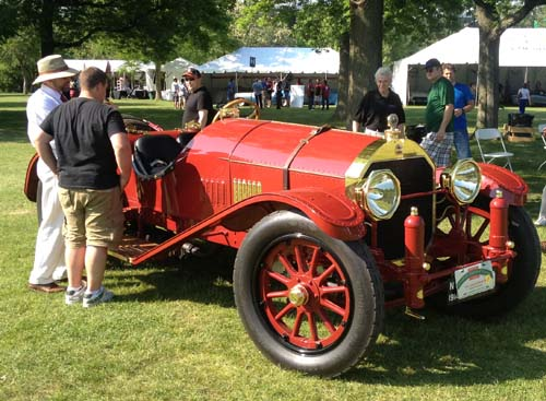 1914 Locomobile Speedster, best in show at Greenwich Concours d'Elegance
